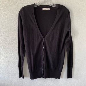 OLD NAVY black button up sweater